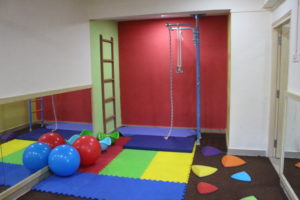 Soft gym at the Best Preschool in Mumbai.